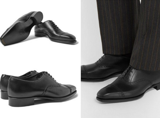 KINGSMAN + George CleverleyEggsy's Leather Oxford Brogues