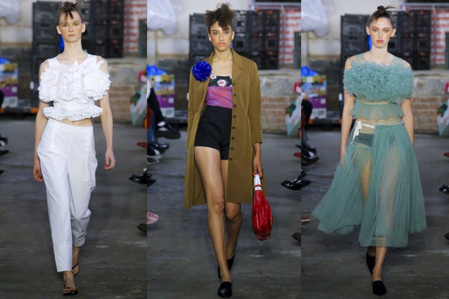 Molly Goddard Spring Summer 2019 Women's Ready-to-Wear Collection - London - Featured Image