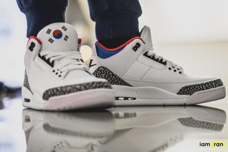 Air Jordan 3 Seoul 11