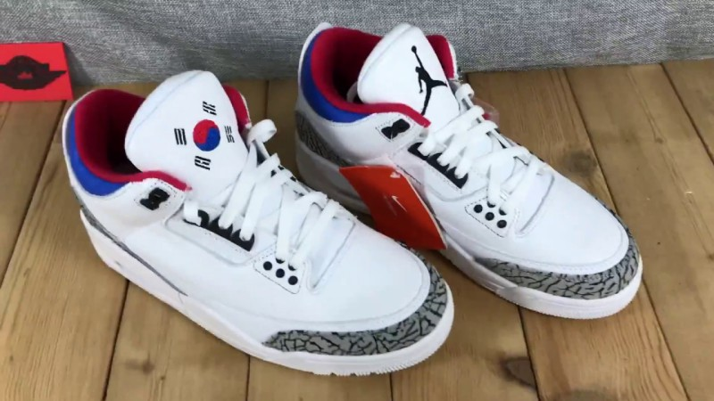 Air Jordan 3 Seoul 4
