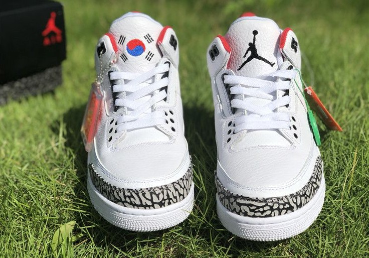 Air Jordan 3 Seoul 8
