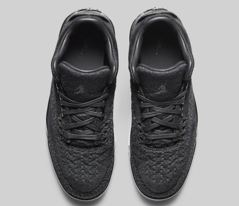 Air Jordan 3 Flyknit Black:Anthracite