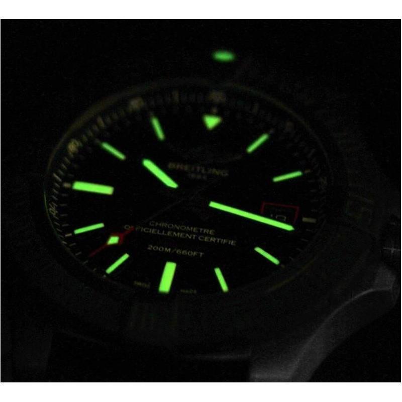 Breitling Avenger Blackbird 44 Men's V1731110-BD74-109W Watch - Luminescence