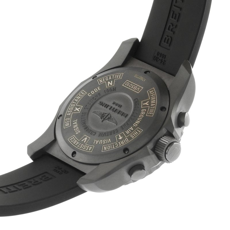 Breitling Cockpit Men's VB501022-BD41-155S Watch - Case Back