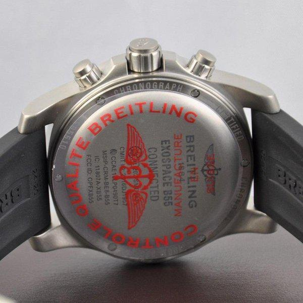 Breitling Exospace Men's EB5510H1-BE79-201S Watch - Case Back
