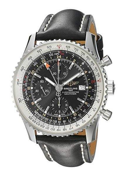 Breitling Navitimer World Men's A2432212-B726BKLT Watch
