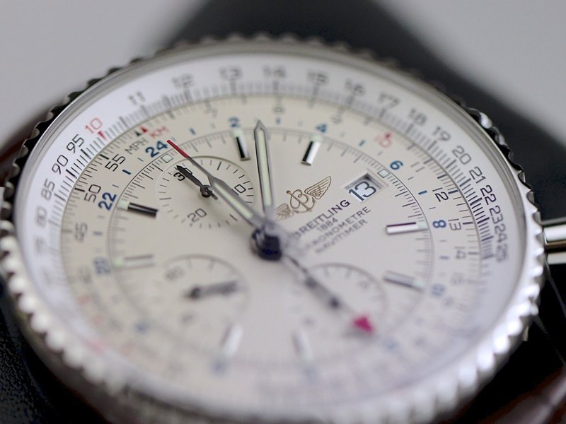 Breitling Navitimer World Men's A2432212-G571-756P Watch - Dial