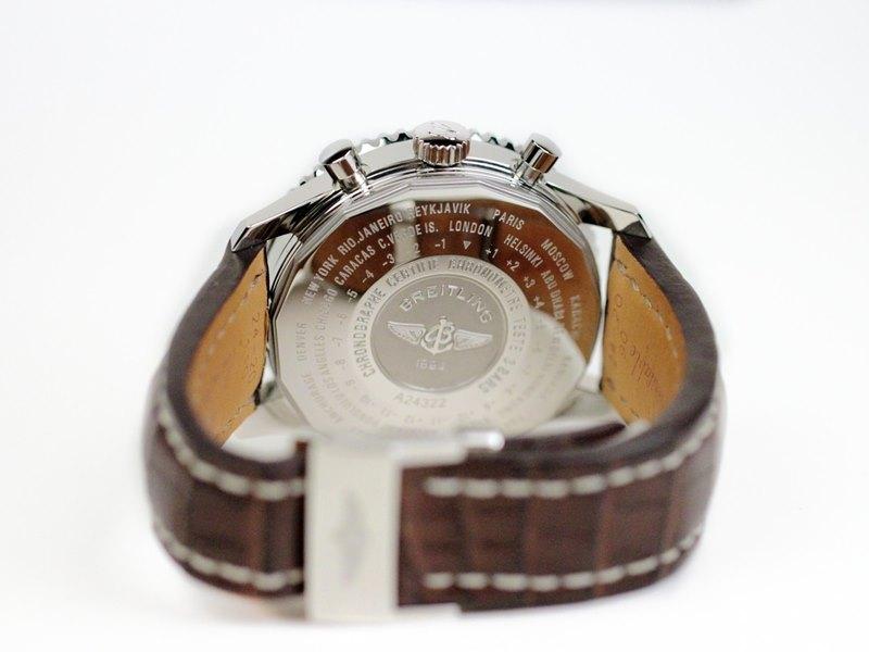 Breitling Navitimer World Men's A2432212-G571-756P Watch - Case Back