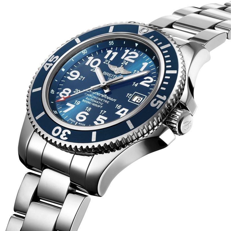 Breitling Superocean II 42 Men's A17365D1-C915-161A Watch - Side View