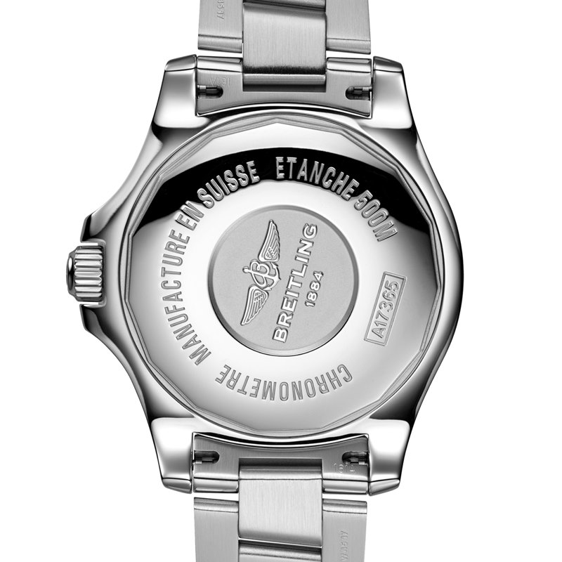 Breitling Superocean II 42 Men's A17365D1-C915-161A Watch - Case Back