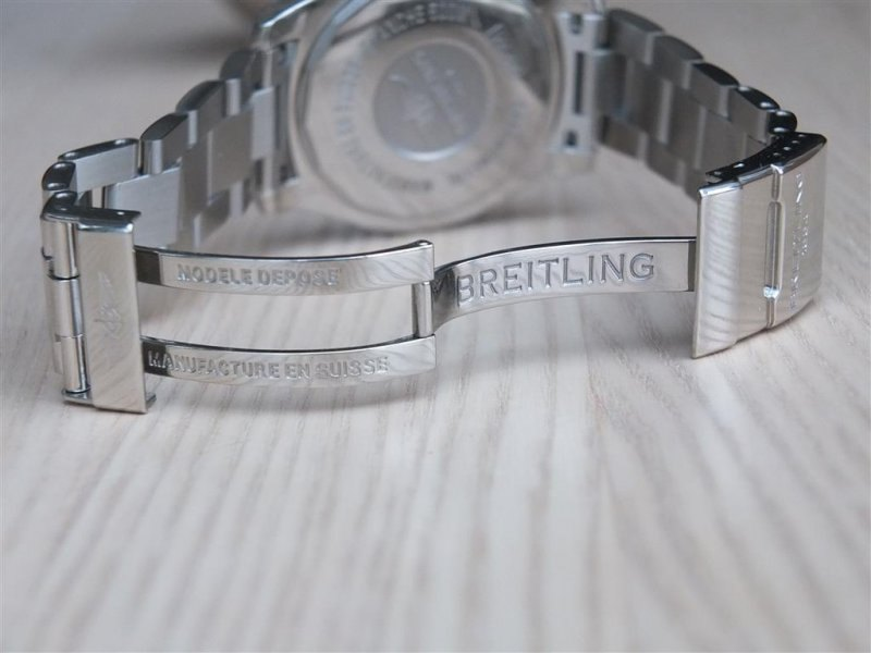 Breitling Superocean II 42 Men's A17365D1-C915-161A Watch - Deployment Clasp
