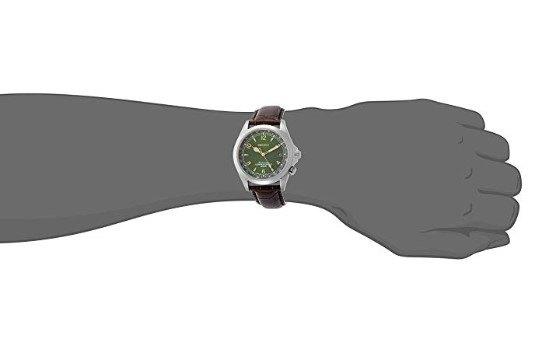 Seiko Alpinist Men's SARB017 Watch - On Wrist