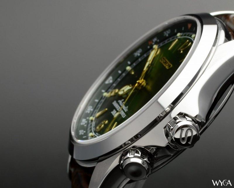 Seiko Alpinist Men's SARB017 Watch - Case Side