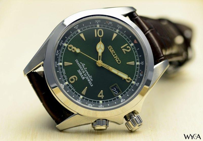 Seiko Alpinist Men's SARB017 Watch
