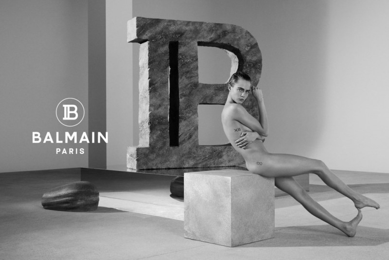 Cara Delevingne and Balmain Recreates Infamous Janet Jackson Pose For New Campaign 4