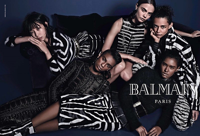 Cara Delevingne and Balmain Recreates Infamous Janet Jackson Pose For New Campaign 8