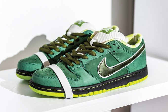 """Concepts x Nike SB Dunk Low """"Green Lobster"""" 10"""