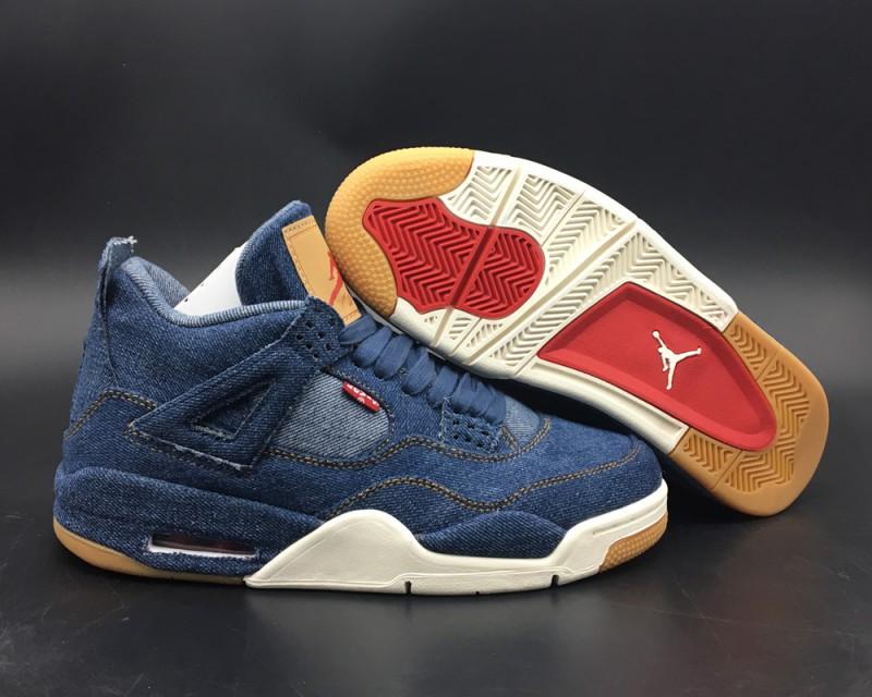 Levi's x Air Jordan 4 Blue Denim 1