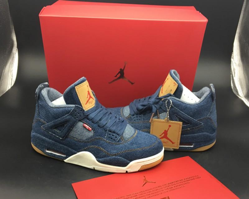 Levi's x Air Jordan 4 Blue Denim 3