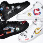 NBA Nike Air Force 1 Mid NBA Logos