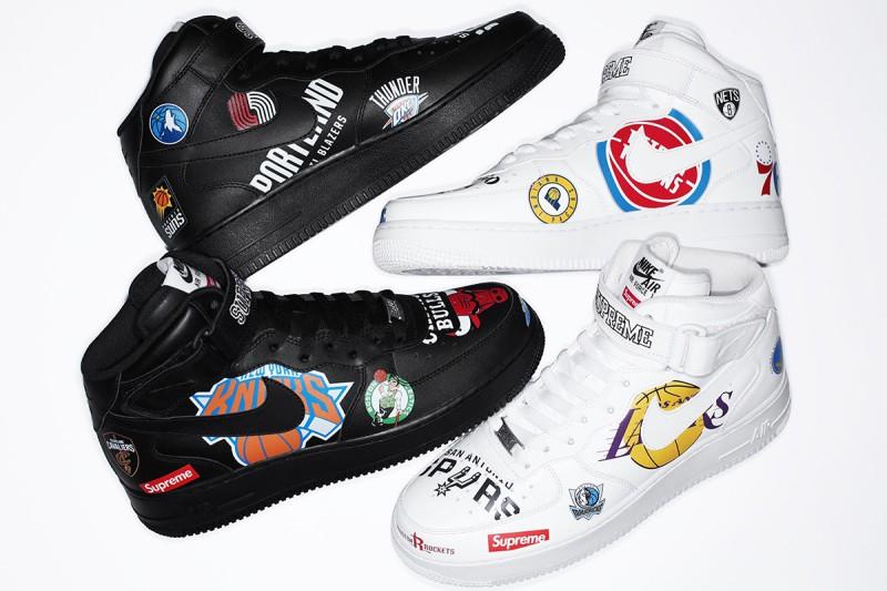 20a1e805fb Supreme NBA Nike Air Force 1 Mid
