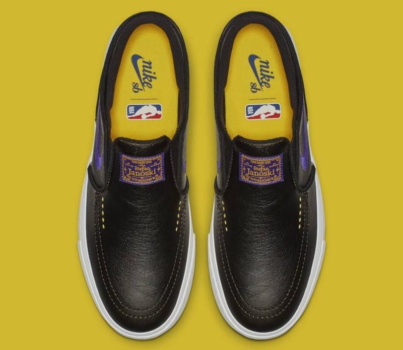 """NBA x Nike SB Janoski """"Lakers"""" and """"Knicks"""" 4"""