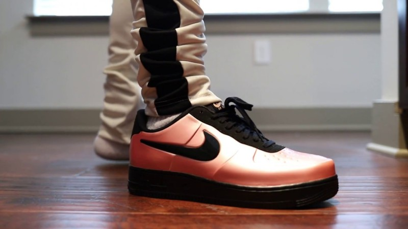 Nike Air Force 1 Foamposite Pro Coral 2