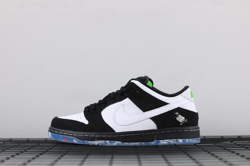 """Nike SB Dunk Low """"Panda Pigeon"""" 1"""