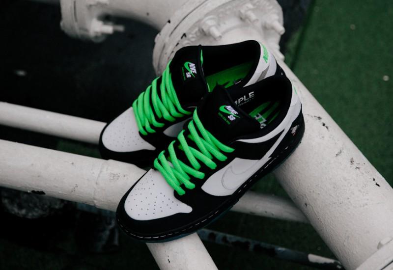 """Nike SB Dunk Low """"Panda Pigeon"""" 8"""
