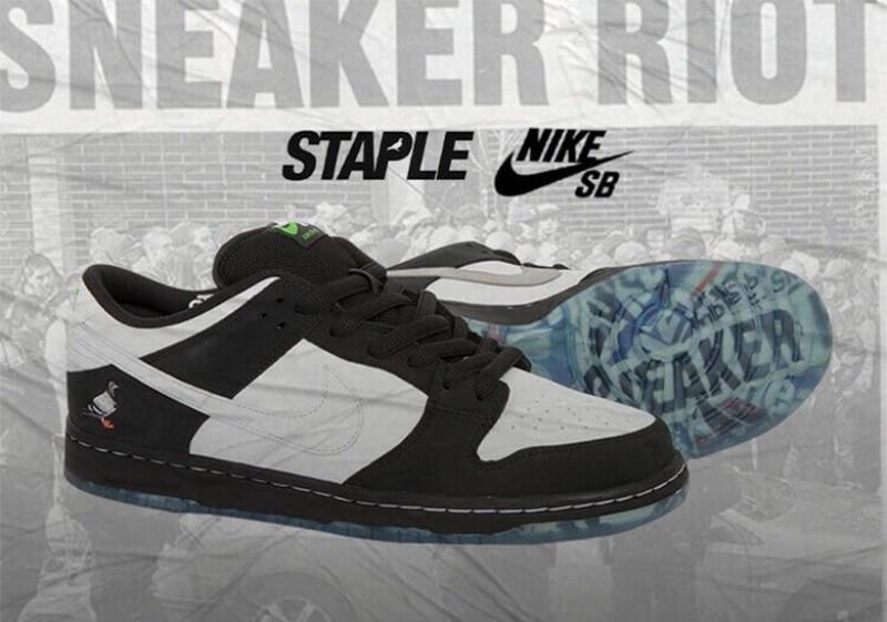 """Nike SB Dunk Low """"Panda Pigeon"""""""