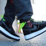 Nike x MAGIC STICK Air Force 1 VIP 'Black Velour' 7