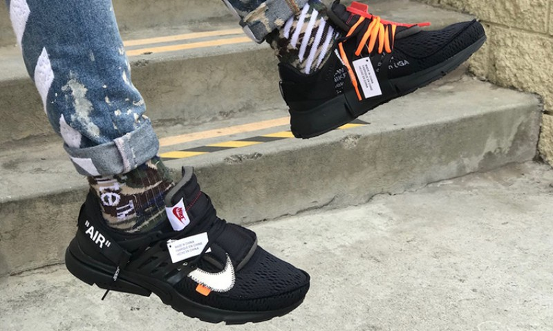 Nike x Off-White Presto Black 3