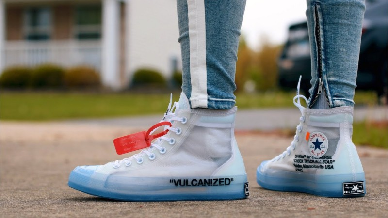 Converse Chuck Taylor 70 Hi x Off White The Ten, Men's