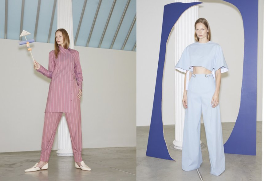 Rosetta Getty Pre Fall 2019 Womenswear Collection - New York - Featured Image
