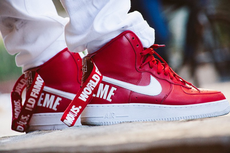 Supreme x Nike Air Force 1 Hi Collection