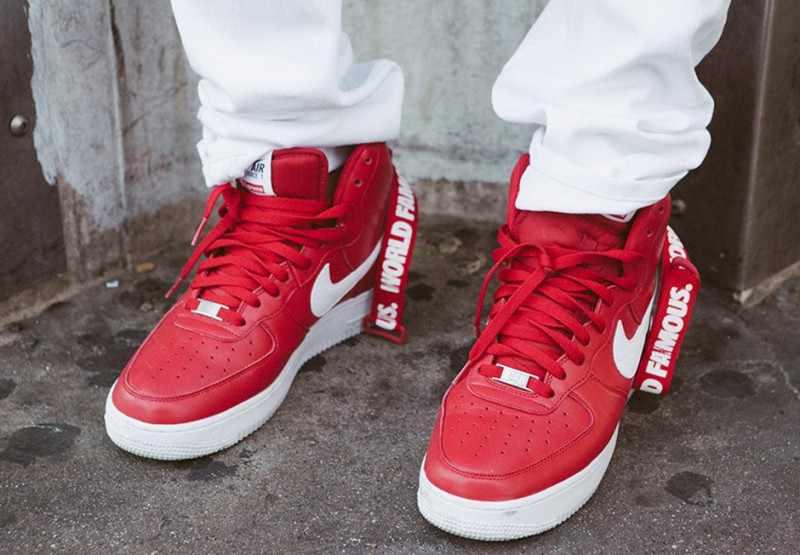 Buy Supreme x Nike Air Force 1 Hi Collection + Review 96713e1886