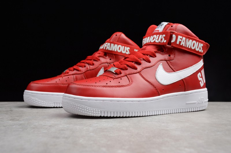 Supreme x Nike Air Force 1 Hi Collection 10