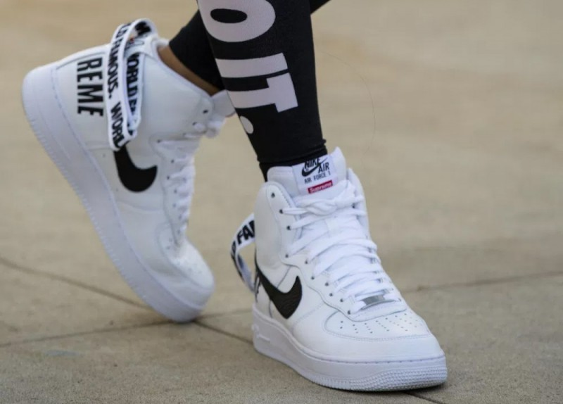Supreme x Nike Air Force 1 Hi Collection 12