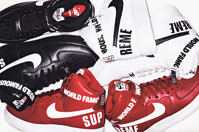 Supreme x Nike Air Force 1 Hi Collection 13