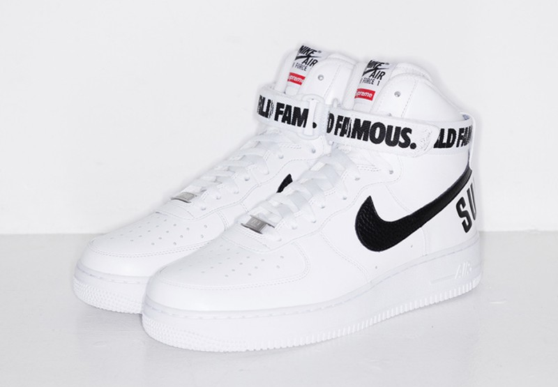 Supreme x Nike Air Force 1 Hi Collection 4