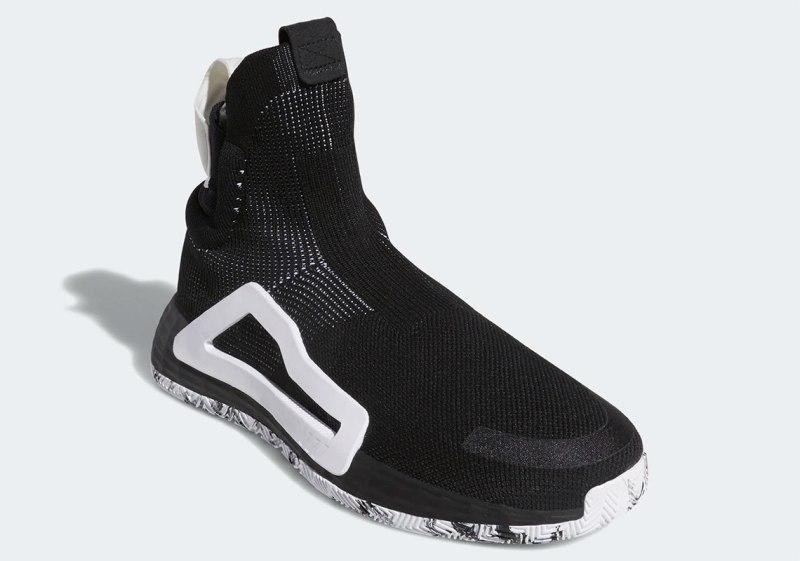 "Adidas N3XT L3V3L ""Core Black:Cloud White-Core Black"" 4"