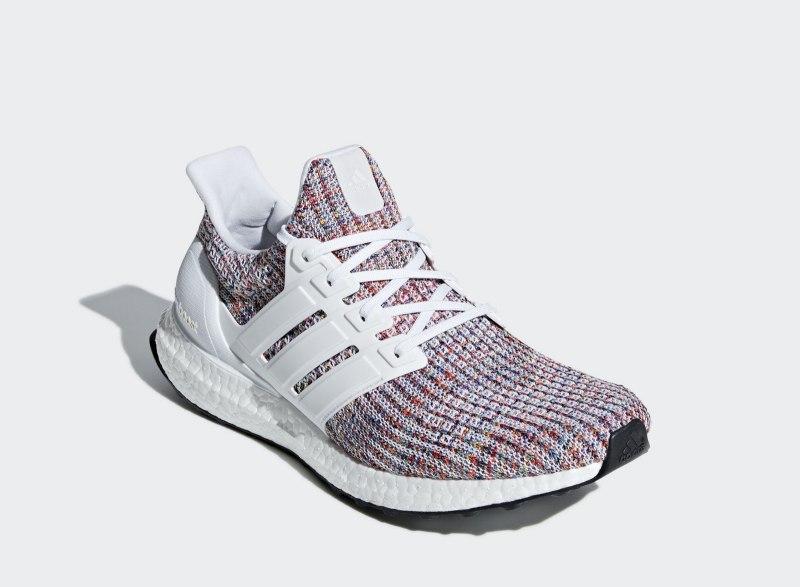 """Adidas Ultra Boost 4.0 """"White Multi-Color"""" 1"""