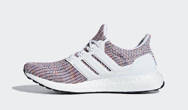 """Adidas Ultra Boost 4.0 """"White Multi-Color"""" 3"""