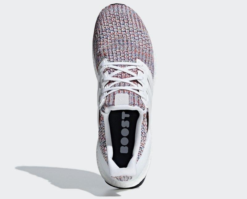 """Adidas Ultra Boost 4.0 """"White Multi-Color"""" 4"""