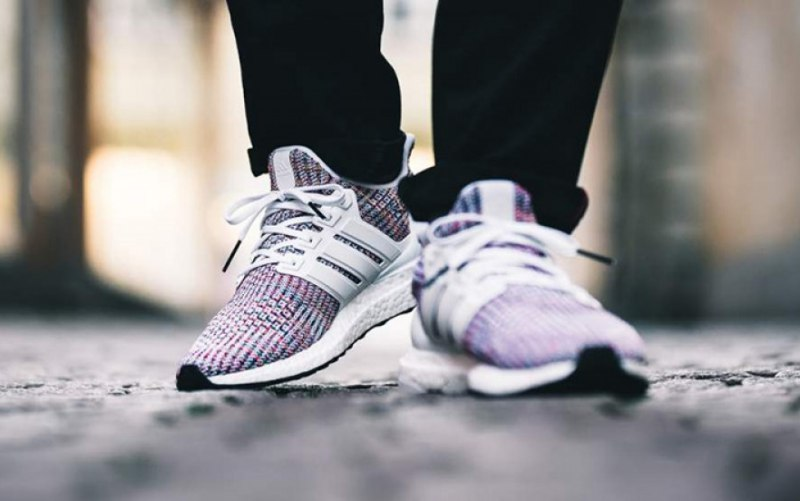 "release date: 3d88c 62ab1 Adidas Ultra Boost 4.0 ""White Multi-Color"" Review"
