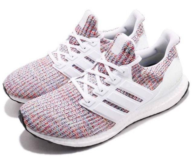 """Adidas Ultra Boost 4.0 """"White Multi-Color"""" 7"""