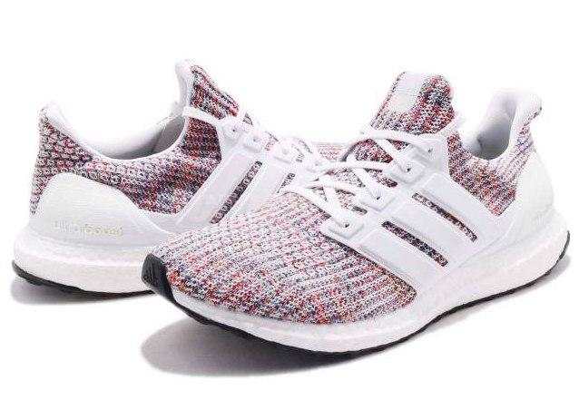 """Adidas Ultra Boost 4.0 """"White Multi-Color"""" 8"""