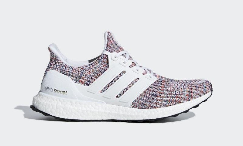 """Adidas Ultra Boost 4.0 """"White Multi-Color"""""""