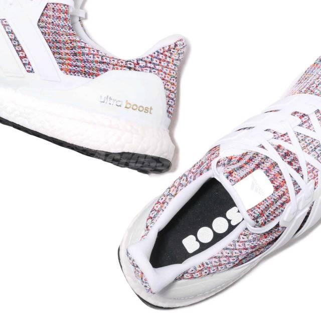 """Adidas Ultra Boost 4.0 """"White Multi-Color""""9"""