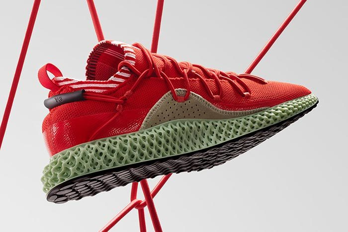 Adidas Y-3 Runner 4D Red 2.0 2